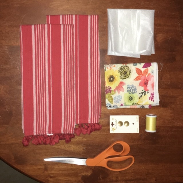 Photo of supplies laid out